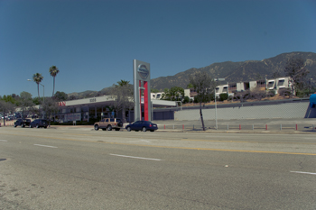 Site of tthe former Foothill Nissan